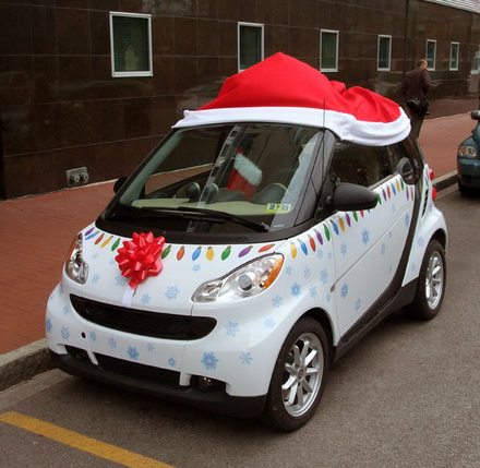 Best Christmas Car Decorations of 2013