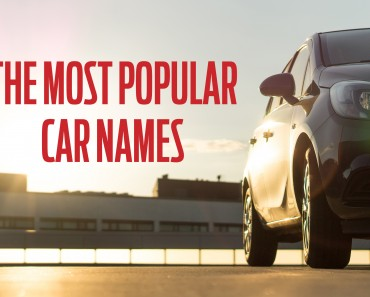 most popular car names